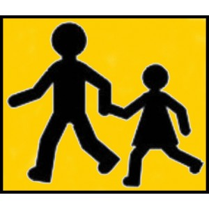 Pictogramme De Transport D'enfants, 250mm*250mm