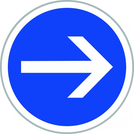 Paneau d'obligation type B21.1