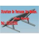 Structure métallique pour panneau solaire