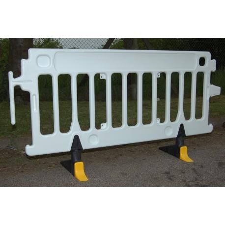 Barrière en polyéthylène