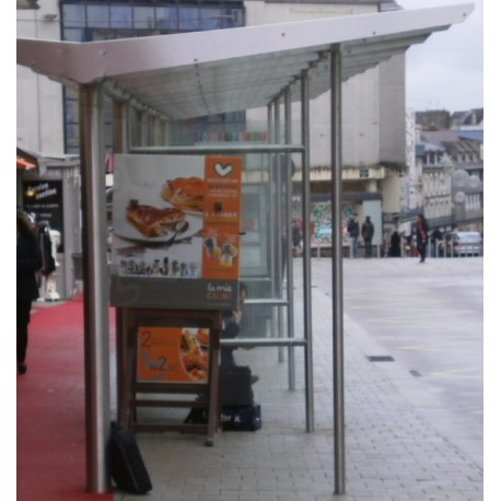 Abri bus Plaza