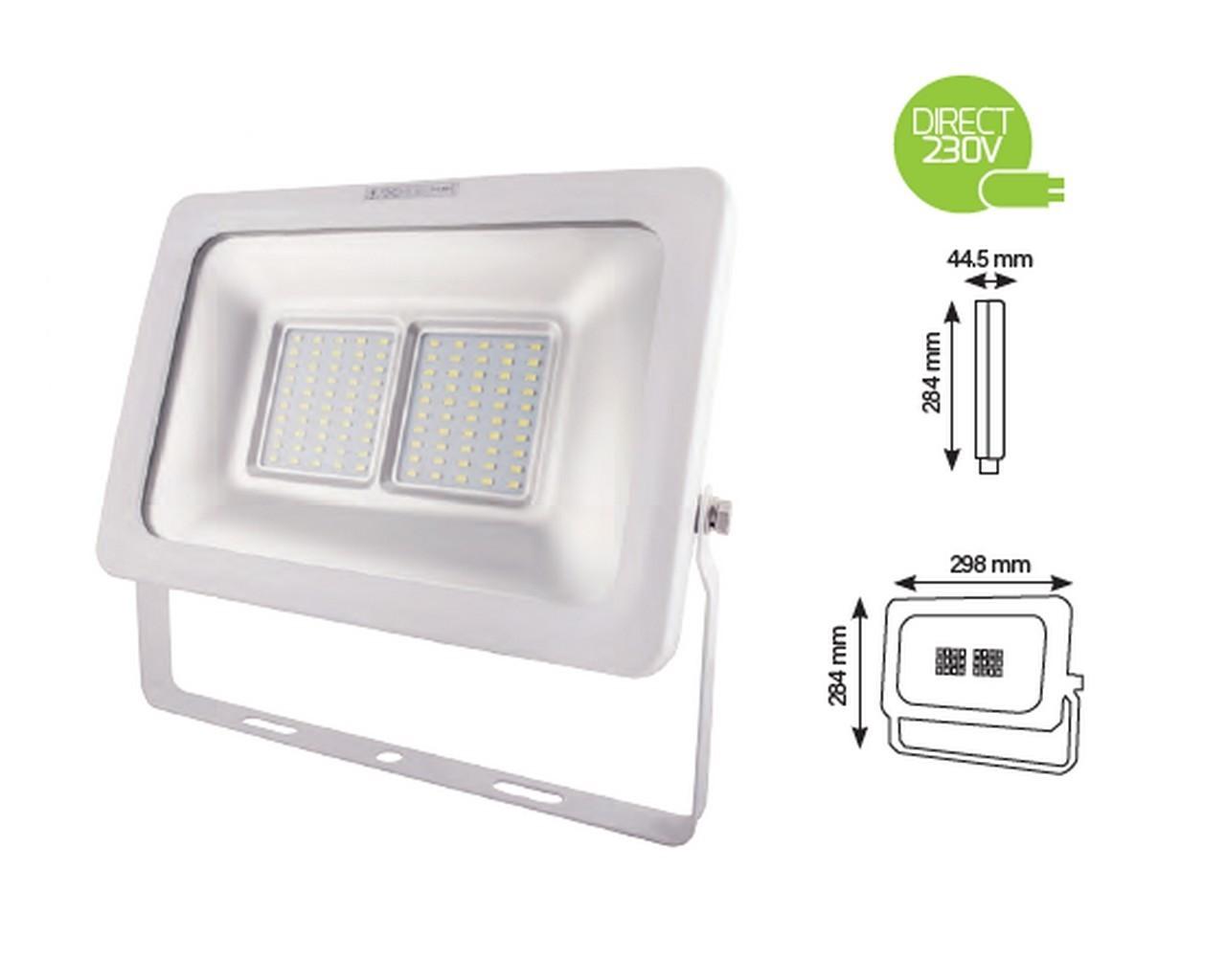Ce projecteur led ext rieur de haute puissance vous offre for Eclairage projecteur exterieur