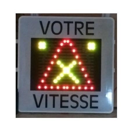 Radar pédagogique indicateur de vitesse