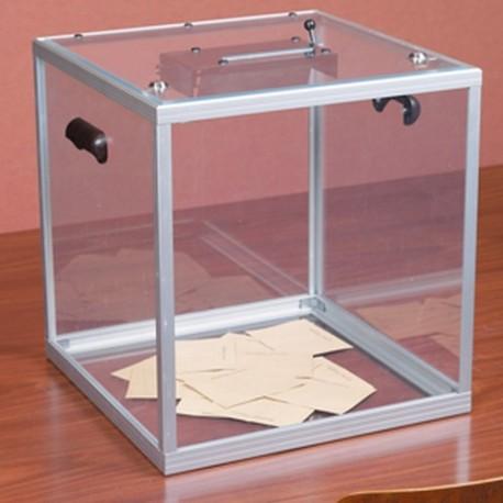 Urne transparente réglementaire