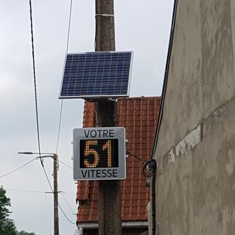 Radar pédagogique solaire