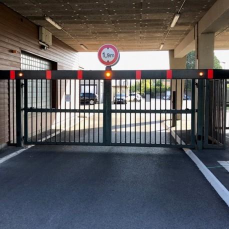 Signalisation lumineuse pour portique
