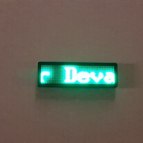Badge à Led