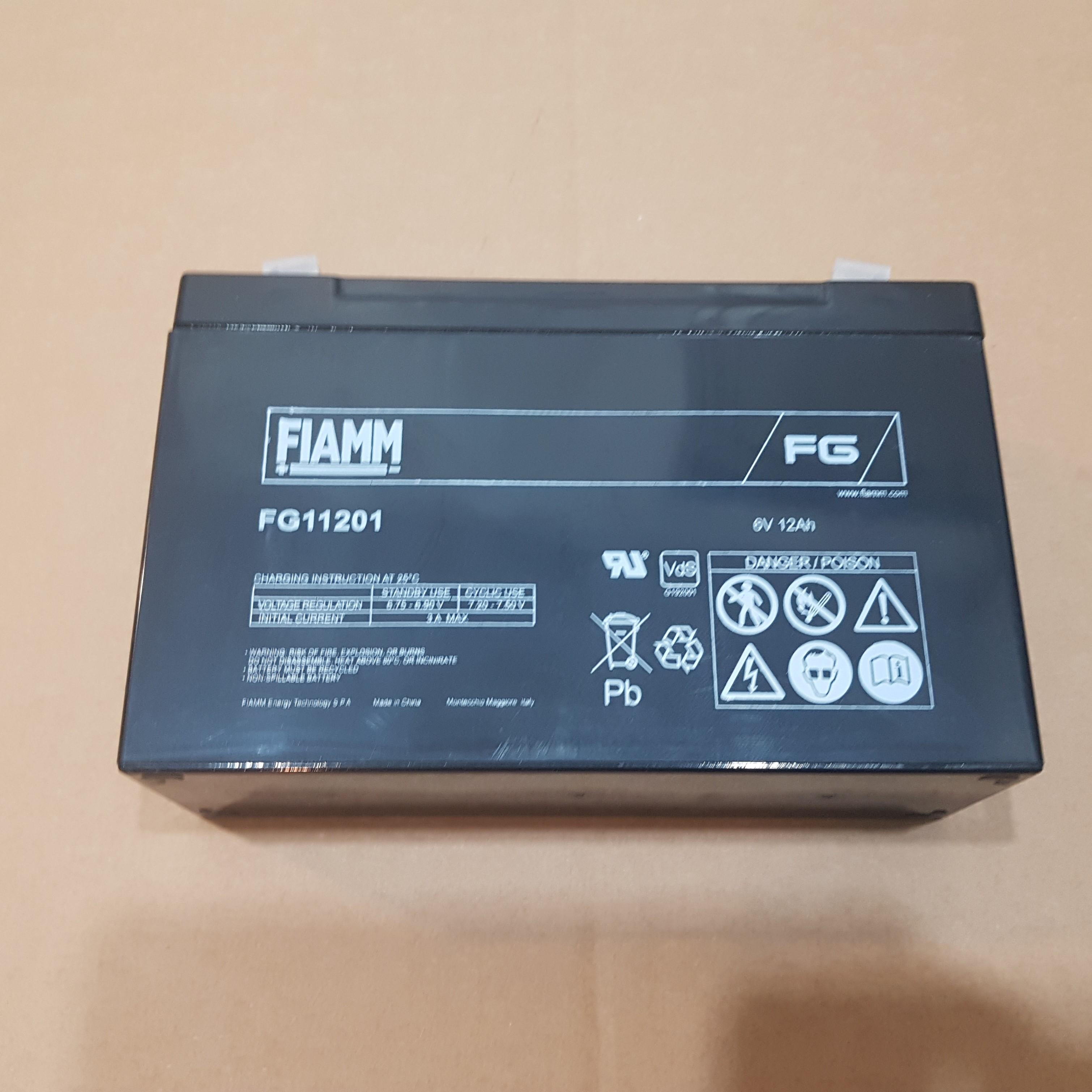 Batterie Fiaam 12AH-6V