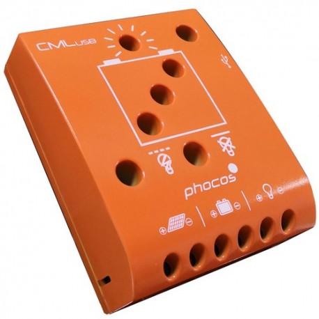 Régulateur solaire phocos CMl-USB series